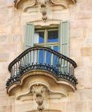 Casen Calvet Fenster-Detail Lizenzfreies Stockbild
