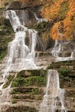 Casentino forest waterfalls Royalty Free Stock Images