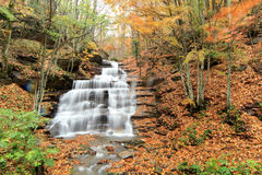 Casentino forest waterfalls Royalty Free Stock Photography