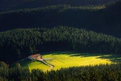 Caserio nahe Oiz-Berg im Baskenland Lizenzfreie Stockbilder
