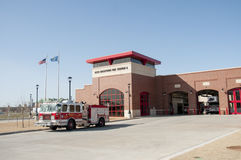 Caserma dei pompieri di Oklahoma City Fotografie Stock
