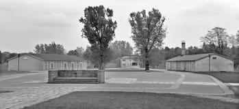 Caserme del campo di concentramento nazista Fotografia Stock