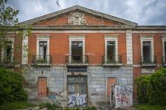 Casernas abandonadas das forças armadas Fotos de Stock