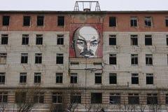 Casernas do soviete/Extremo Oriente foto de stock royalty free