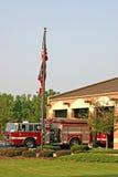 Caserne de pompiers image libre de droits