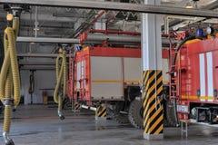 Caserne de pompiers Photographie stock