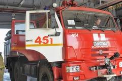 Caserne de pompiers Photos libres de droits