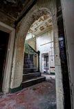 Caserne de pompiers abandonnée Photos stock