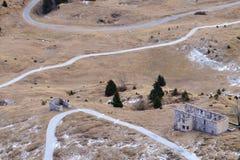 Casernes abandonnées de militaires Photo stock