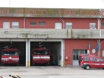Casernes de pompier Images libres de droits