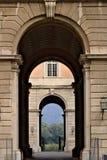 Caserta, Ιταλία 27/10/2018 Πύλες πρόσβασης στα προαύλια της Royal Palace Caserta Ιταλία στοκ εικόνες