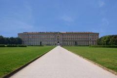 caserta παλάτι βασιλικό Στοκ Εικόνες