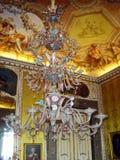 Caserta chandelier Stock Photo