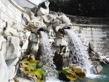 Caserta fountain Royalty Free Stock Photos