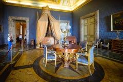 CASERTA, ITÁLIA - 24 DE SETEMBRO DE 2017: Royal Palace de Caserta fotos de stock royalty free