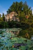 CASERTA, ITÁLIA - 24 DE SETEMBRO DE 2017: Royal Palace de Caserta fotografia de stock royalty free