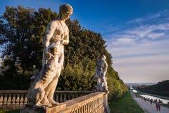 CASERTA, ITALIA - 24 SETTEMBRE 2017: Royal Palace di Caserta fotografia stock libera da diritti