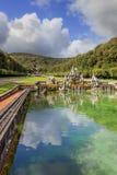 Caserta Palace Royal Garden,Italy (Campania). royalty free stock image