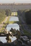 Caserta Palace Royal Garden. Royalty Free Stock Photos
