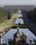 Caserta Palace Royal Garden. Stock Photography