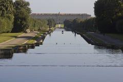 Caserta Palace Royal Garden. Stock Photos