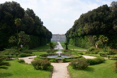 Caserta Royal Palace Stock Image