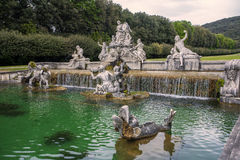 Caserta royal palace fountain. Fountain in Caserta Royal Palace Royalty Free Stock Photography