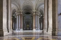 Caserta Royal Palace foyer fotografia royalty free