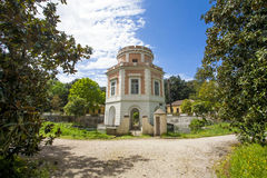 Caserta Royal Palace Garden. Summer-house in Caserta Royal Palace Garden Stock Image