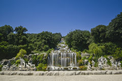 Free Caserta Royal Palace, Statue In Great Waterfall Royalty Free Stock Photo - 41940045