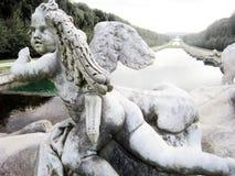 Caserta royal palace statue Royalty Free Stock Photos