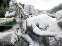Caserta royal palace statue Stock Image