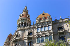 Cases Antoni Rocamora - Barcelona Royalty Free Stock Image