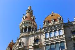 Cases Antoni Rocamora - Barcelona Royalty Free Stock Photo