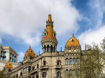 Cases Antoni Rocamora Barcelona Royalty Free Stock Images