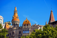 Cases Antoni Rocamora - Barcelona Spain Stock Photography