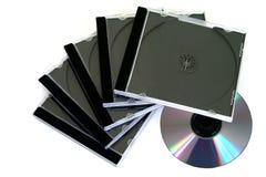 cases cd-skivan royaltyfria foton