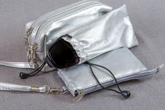 Cases for cosmetics and eyewear Royalty Free Stock Photography