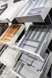 Cases for kitchen utensils Stock Photo