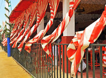 Caseta, Fair in Seville, Andalusia, Spain Royalty Free Stock Images