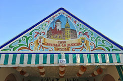 Caseta at the Fair in Seville, Andalusia, Spain Royalty Free Stock Images