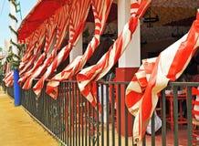 Caseta, favorablemente en Sevilla, Andalucía, España Imágenes de archivo libres de regalías