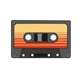 Casete audio Vector Fotos de archivo libres de regalías