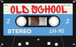 Casete de cinta del vintage con nombre en él Imagen de archivo libre de regalías