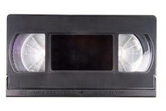 Casete de la cinta video aislado foto de archivo