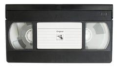Casete de la película de VHS fotos de archivo libres de regalías
