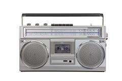 Casete de la radio portátil del arenador del ghetto del vintage Fotografía de archivo libre de regalías