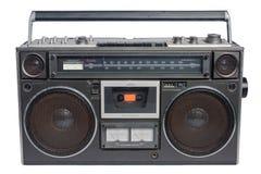 Casete de radio del vintage Imagen de archivo libre de regalías