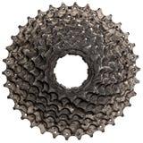 Casete posterior de la bicicleta Imagen de archivo