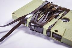 Casetes audios - estilo retro Fotos de archivo